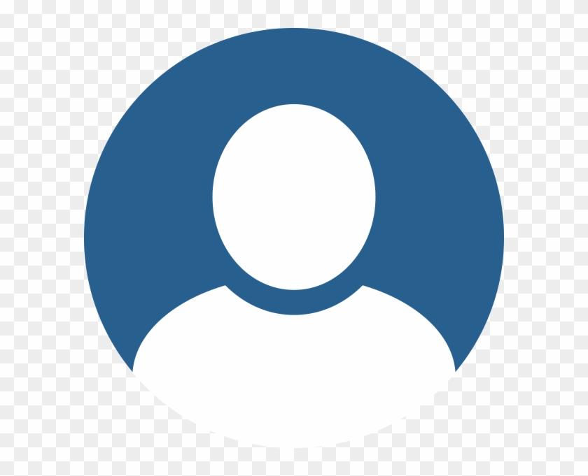 Anonim profil ikon kék